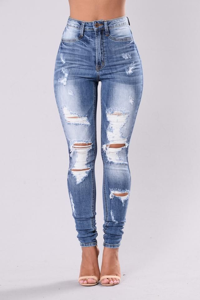 Bet You Won't Forget It Jeans Medium Blue | Best jeans for