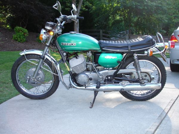 1971 Suzuki T 250 Vintage Two Stroke Street Bike Motorrad