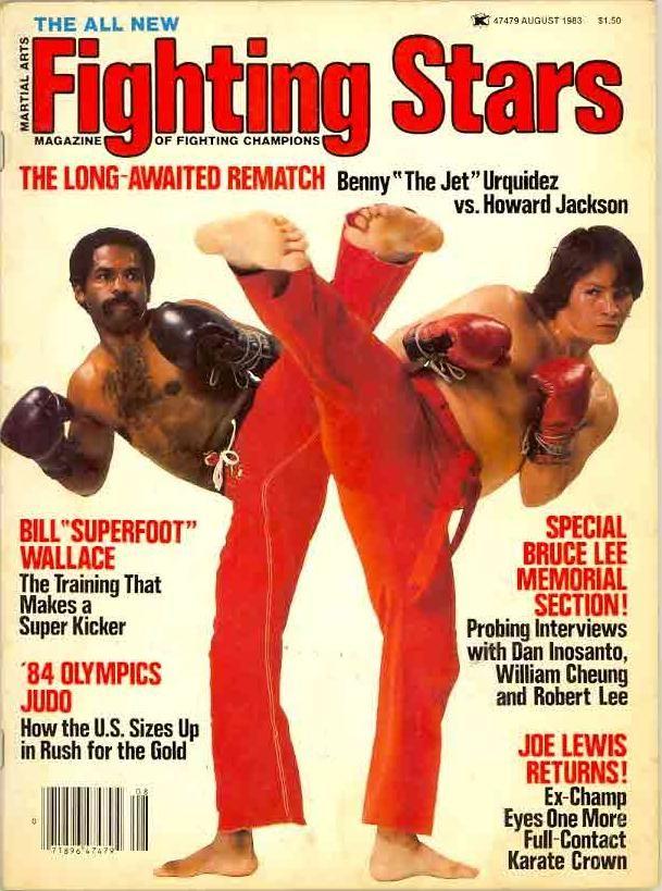 Urquidez Vs Jackson On A Magazine Martial Arts Karate Martial Artist