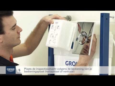 Grohe wc element installeren youtube slimme tips