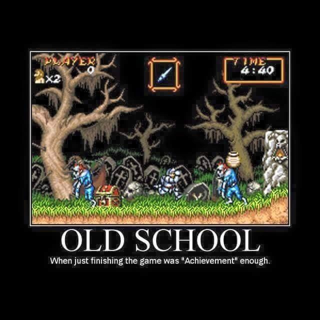 Image result for old school gamer meme