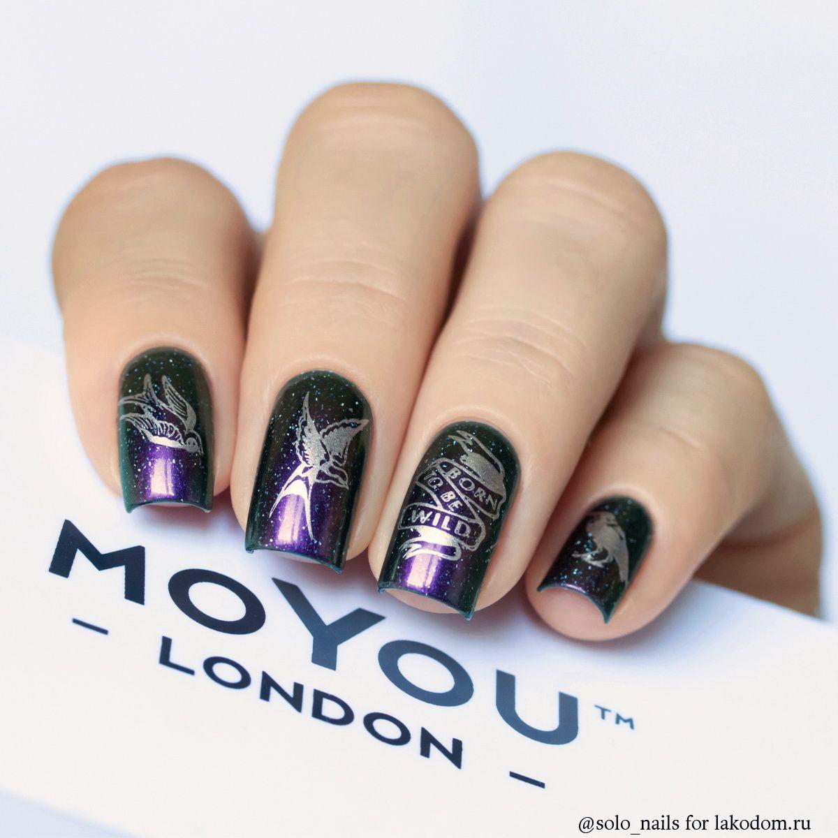 Plastina Dlya Stempinga Moyou London Biker Kupit S Dostavkoj Po Moskve Cpb I Vsej Rossii Nail Stamping Stamping Nail Art Nail Art Designs