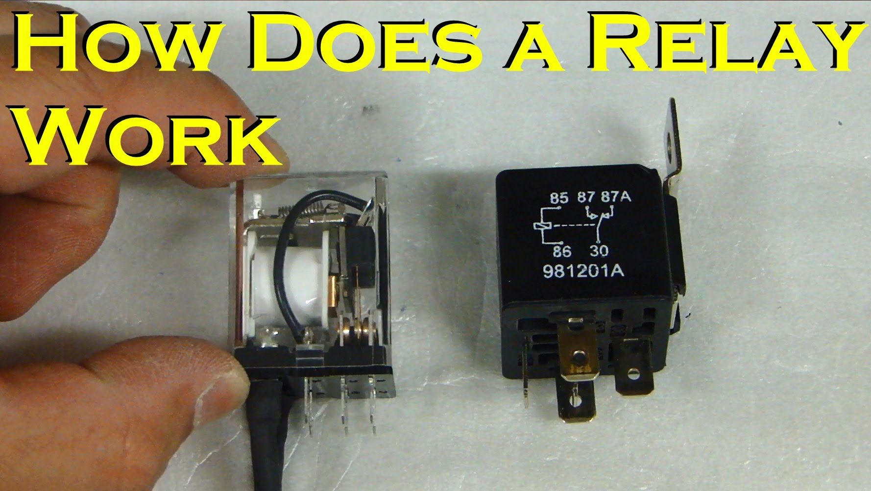 How Does A Relay Work Automotive Spdt Diesel To Connect Dpdt In Circuit Double Pole Throw