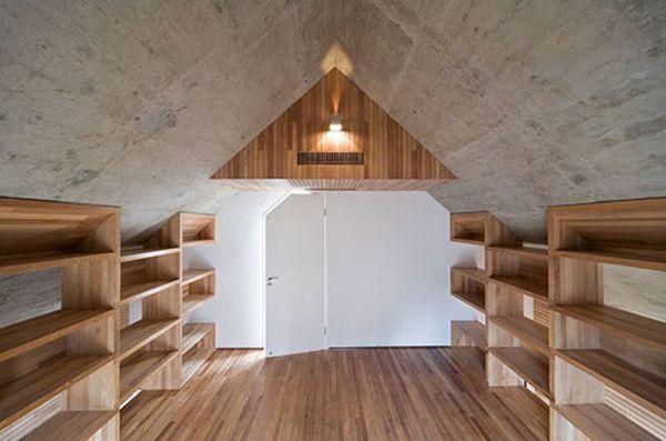 Modern Concrete House Pikted Concrete House House Design Minimalist Home