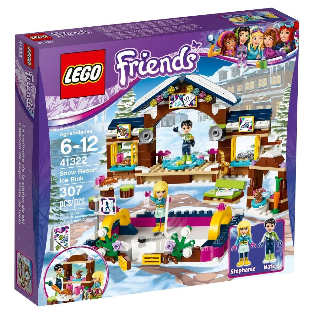 Lego Friends Snow Resort Ice Rink 41322 Products Lego Friends