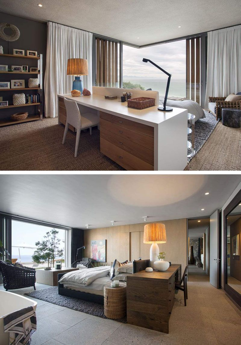 Bedroom Layout Idea These Two Bedrooms Have The Bed Positioned