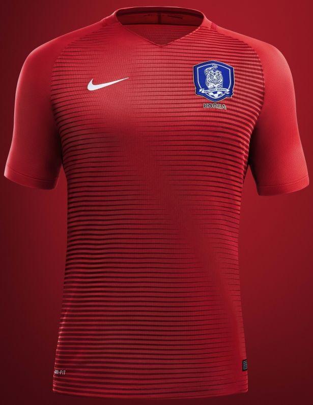 Nike lança as novas camisas da Coreia do Sul - Show de Camisas ... edd0523992c48