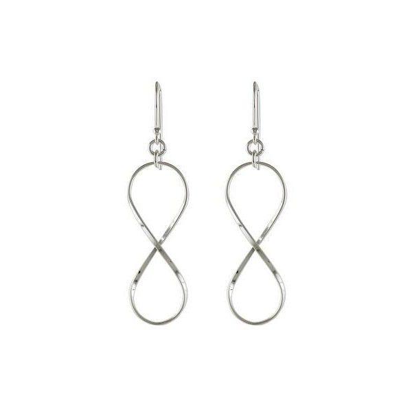 Novica Sterling Silver Infinity Symbol Thai Dangle Earrings 20