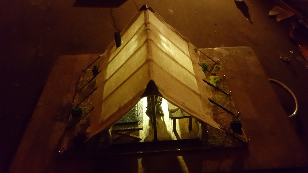 Lamber Tent 1:22,5 Spur G  beleuchtet