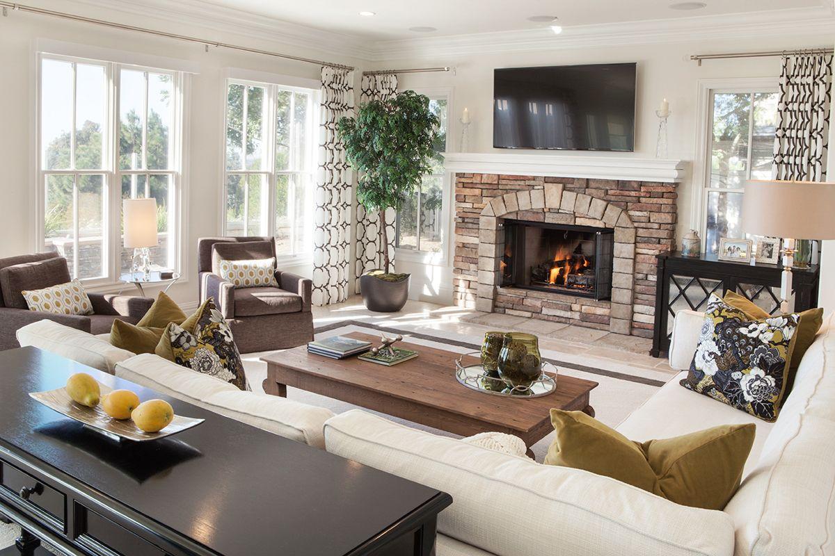 Elegant California Coastal Living Room