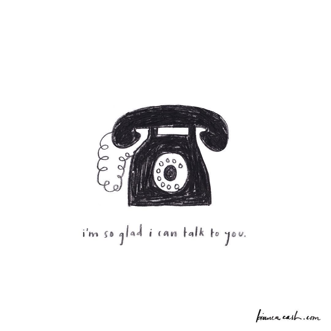 // bianca cash | Typography | Telephone drawing, Doodle ...