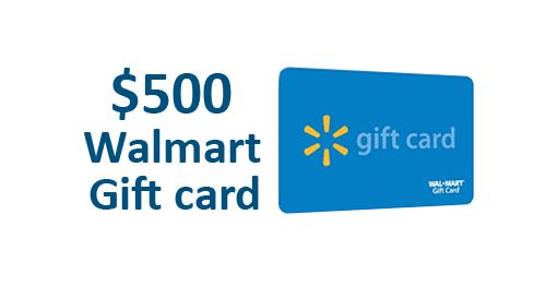 photograph about Printable Walmart Gift Card identified as Input toward Get hold of a $500 Walmart Present Card Present Playing cards