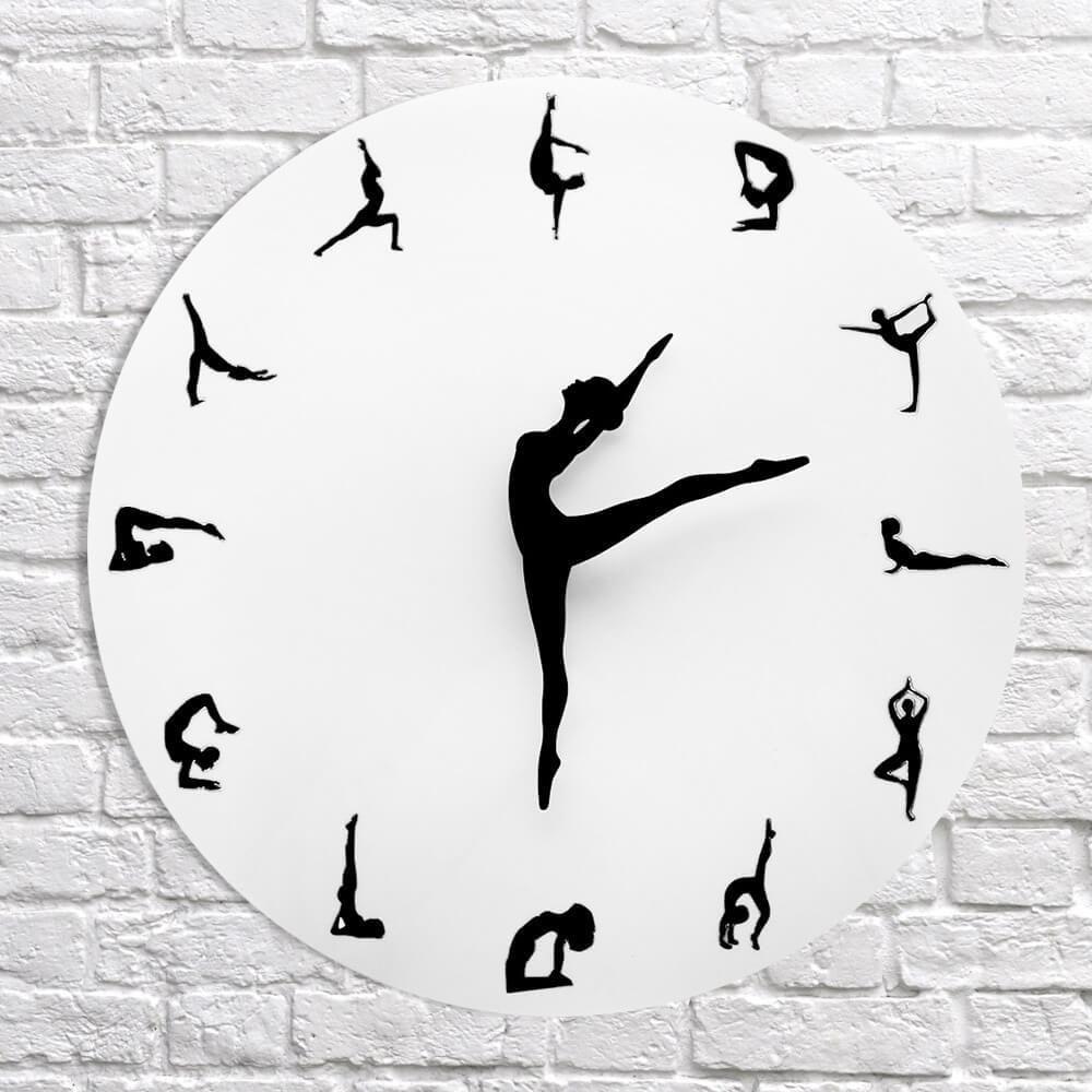 Charming Ballerina Wall Clock Online First Deals In 2020 Dance Clock Wall Clock Clock