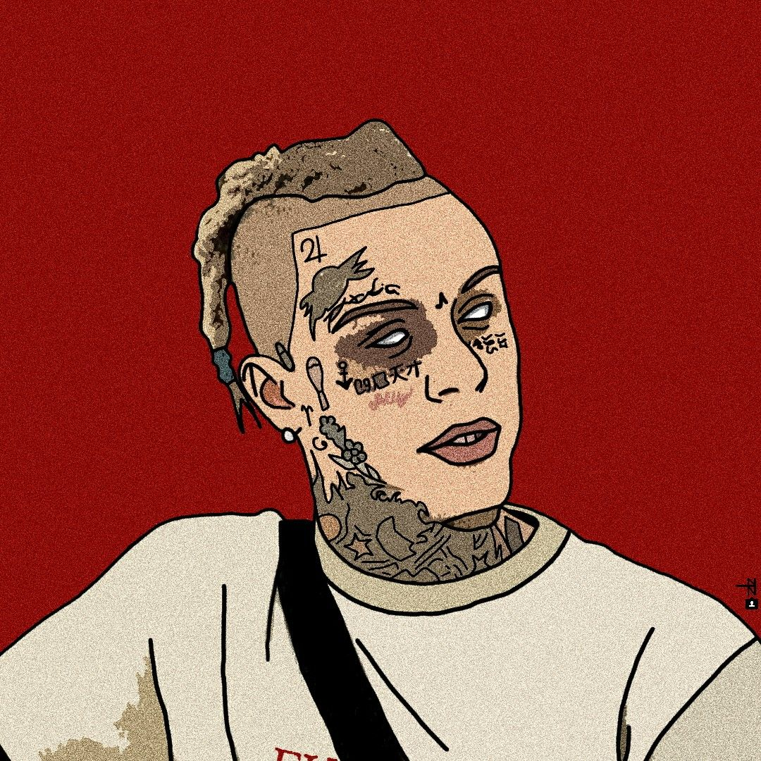 Lil Skies Rapper art, Lil skies, Anime rapper