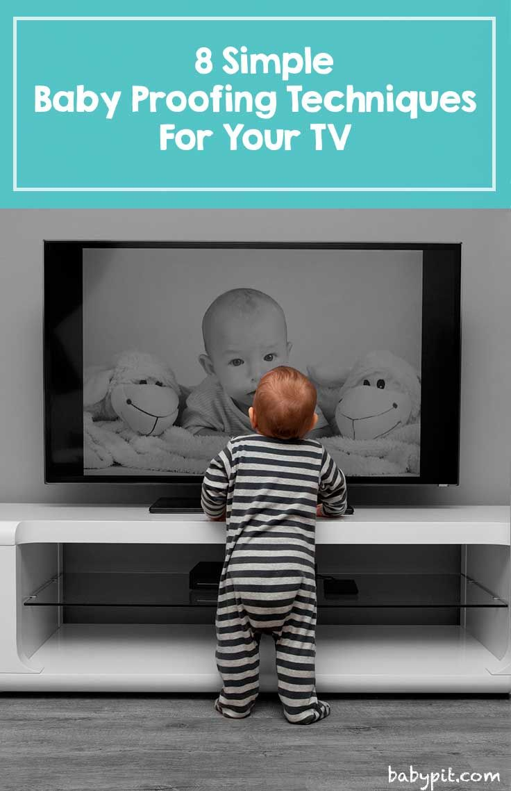learn how to baby proof your tv tv stand and other components