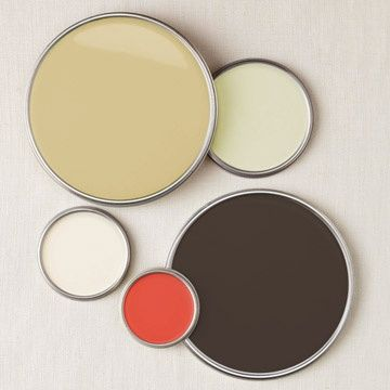 Patrice Cowan Bevans Created A Palette For Everyone With A Brown Sofa The Pale Green Beautiful Contrasts Dark U Color Palette Design Room Colors Color Palette