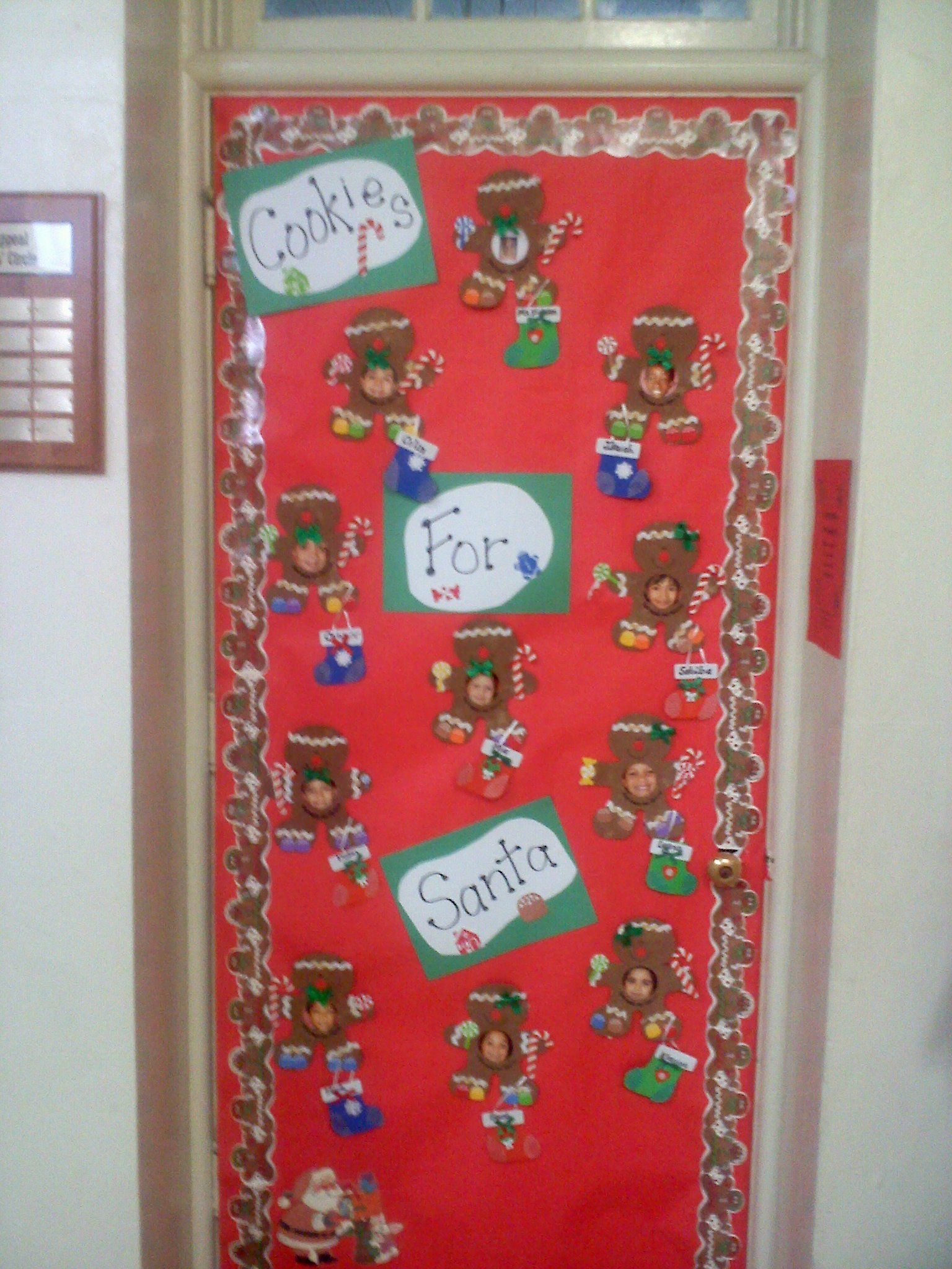 decorating classroom doors for christmas This entry was