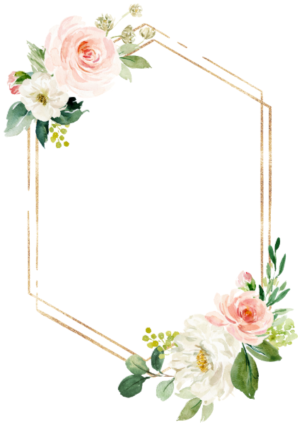 Blush White Bloom Gold Frame Wedding Invitation Zazzle Com Wedding Frames Wedding Cards Floral Invitation