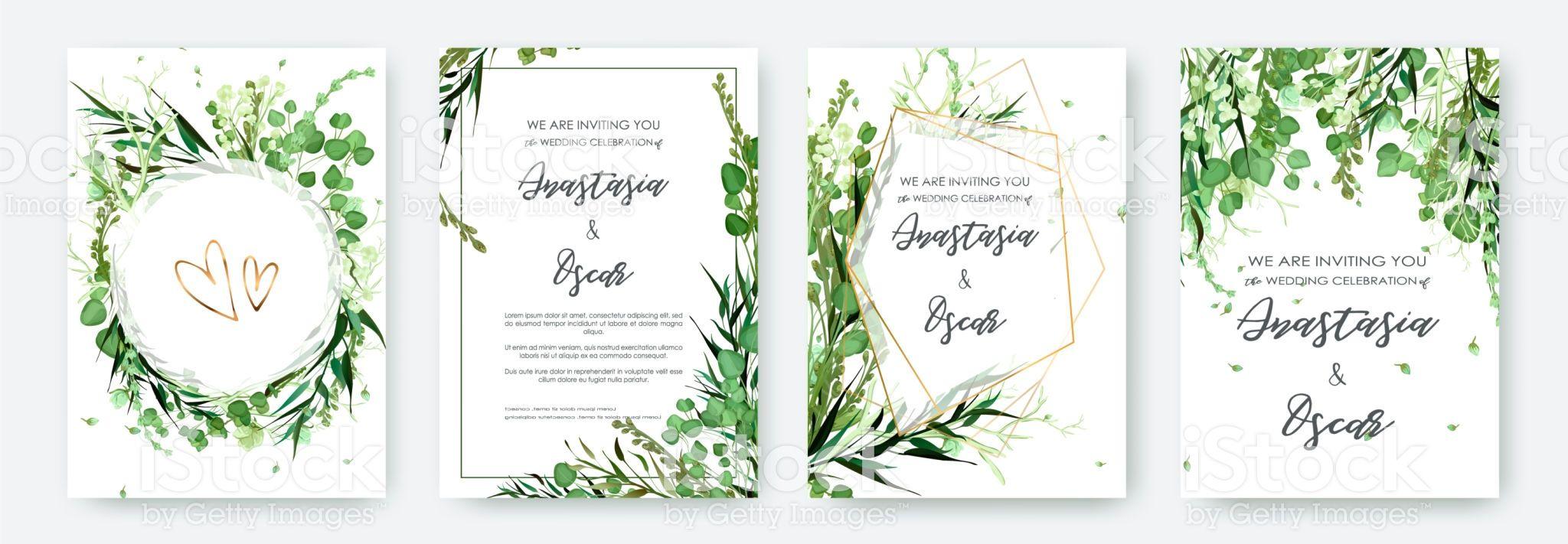 232e5edc9b98 Wedding invitation frame set  flowers