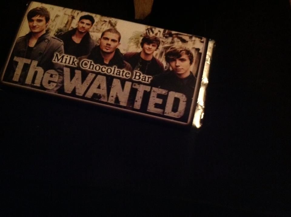 Omg the wanted are on CHOCOLATE now!! WHAT!?!?!?!?!?!?!?!