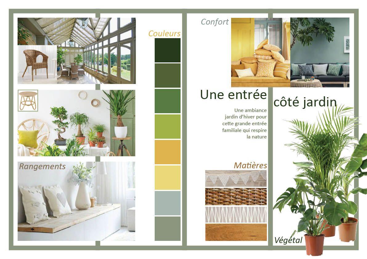 Planche d 39 ambiance v randa jardin d 39 hiver atelier devergne d coration d 39 int rieur - Planche d ambiance ...