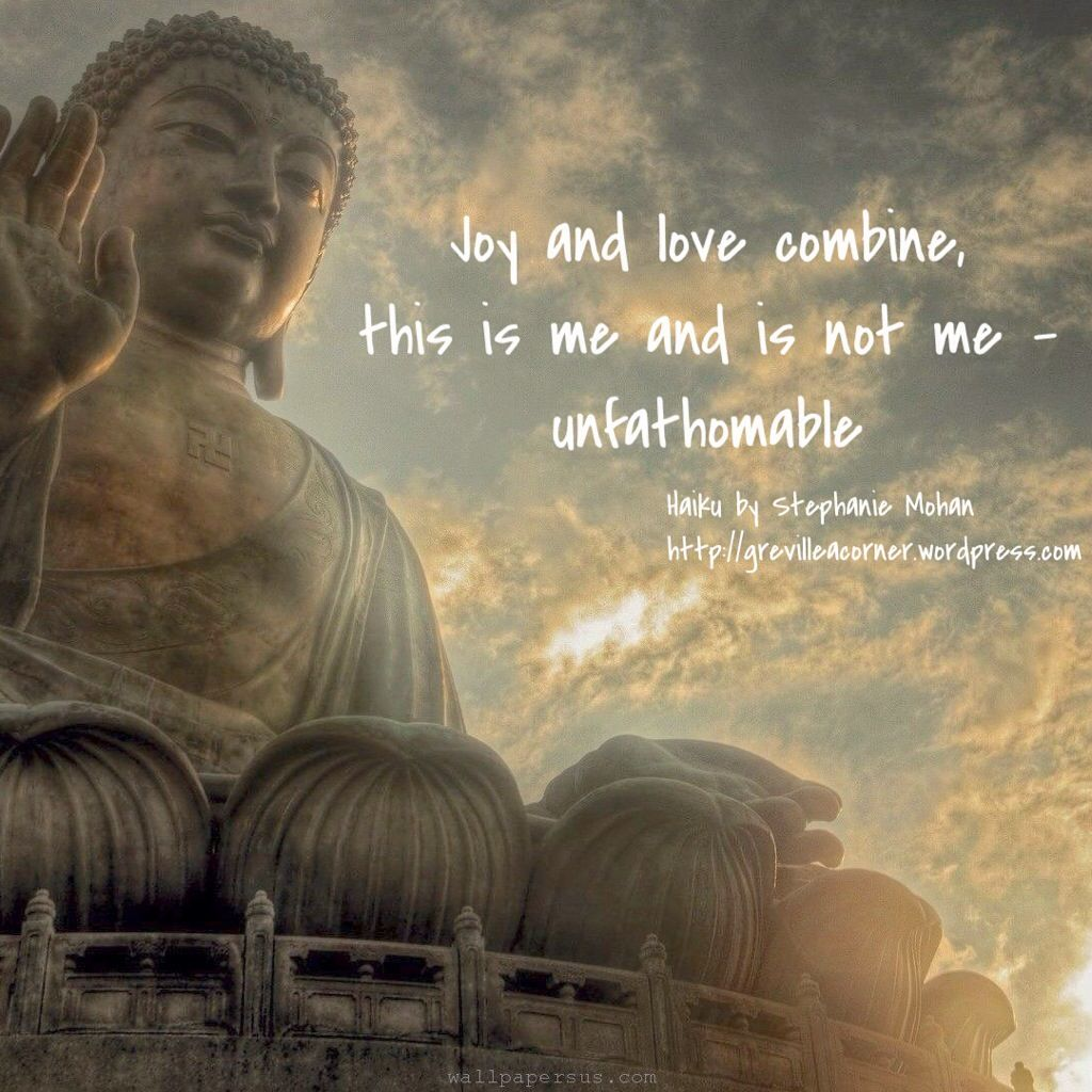 Unfathomable haiku Buddha wallpaper iphone, Buddha