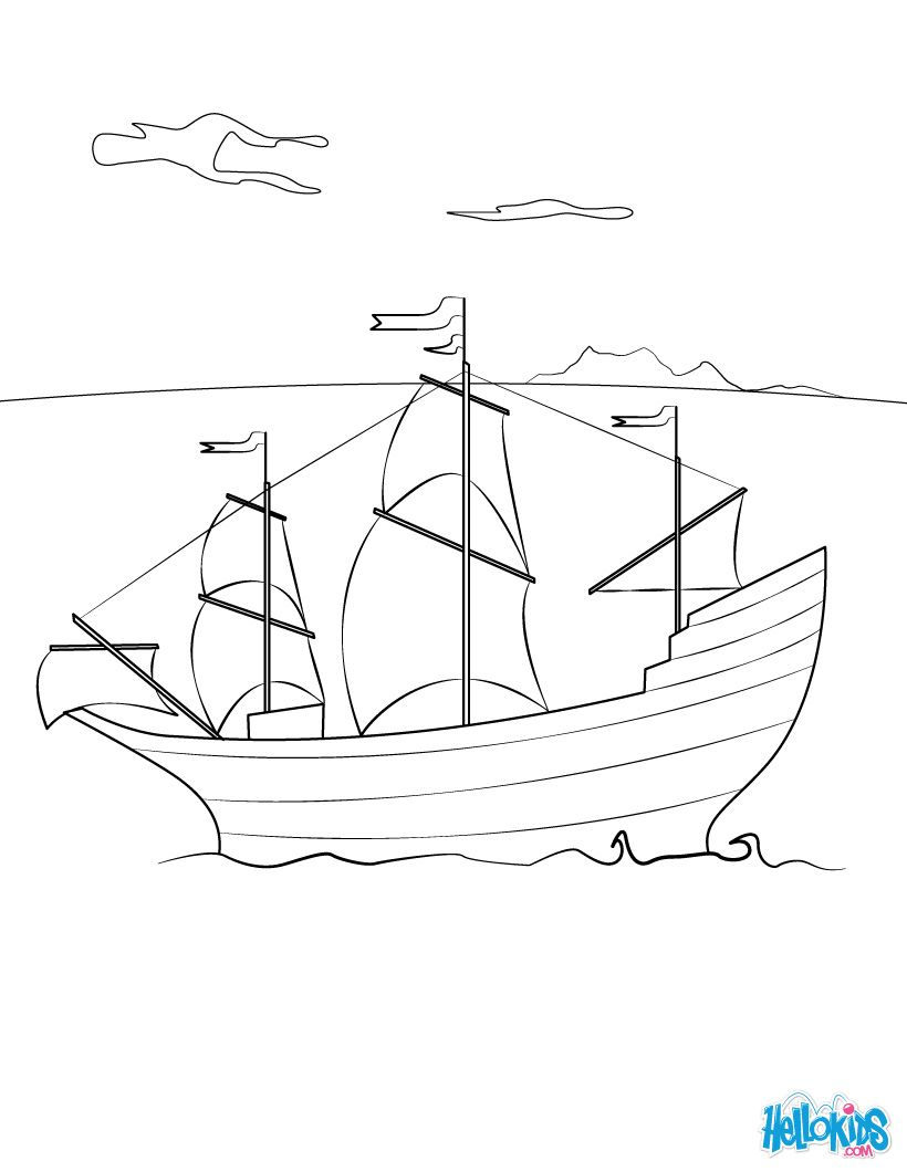 Thanksgiving Coloring Pages The Mayflower Ship Thanksgiving Coloring Pages Coloring Pages Inspirational Coloring Pages