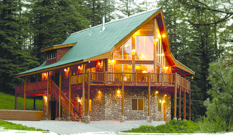 Original Log Cabin Homes Alpine Ridge Floorplans