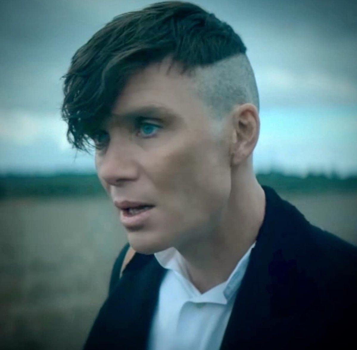 Image result for tommy shelby hair