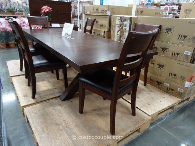 Hillsdale Furniture Bretton Grove 7 Piece Dining Set At Costco For $869.99