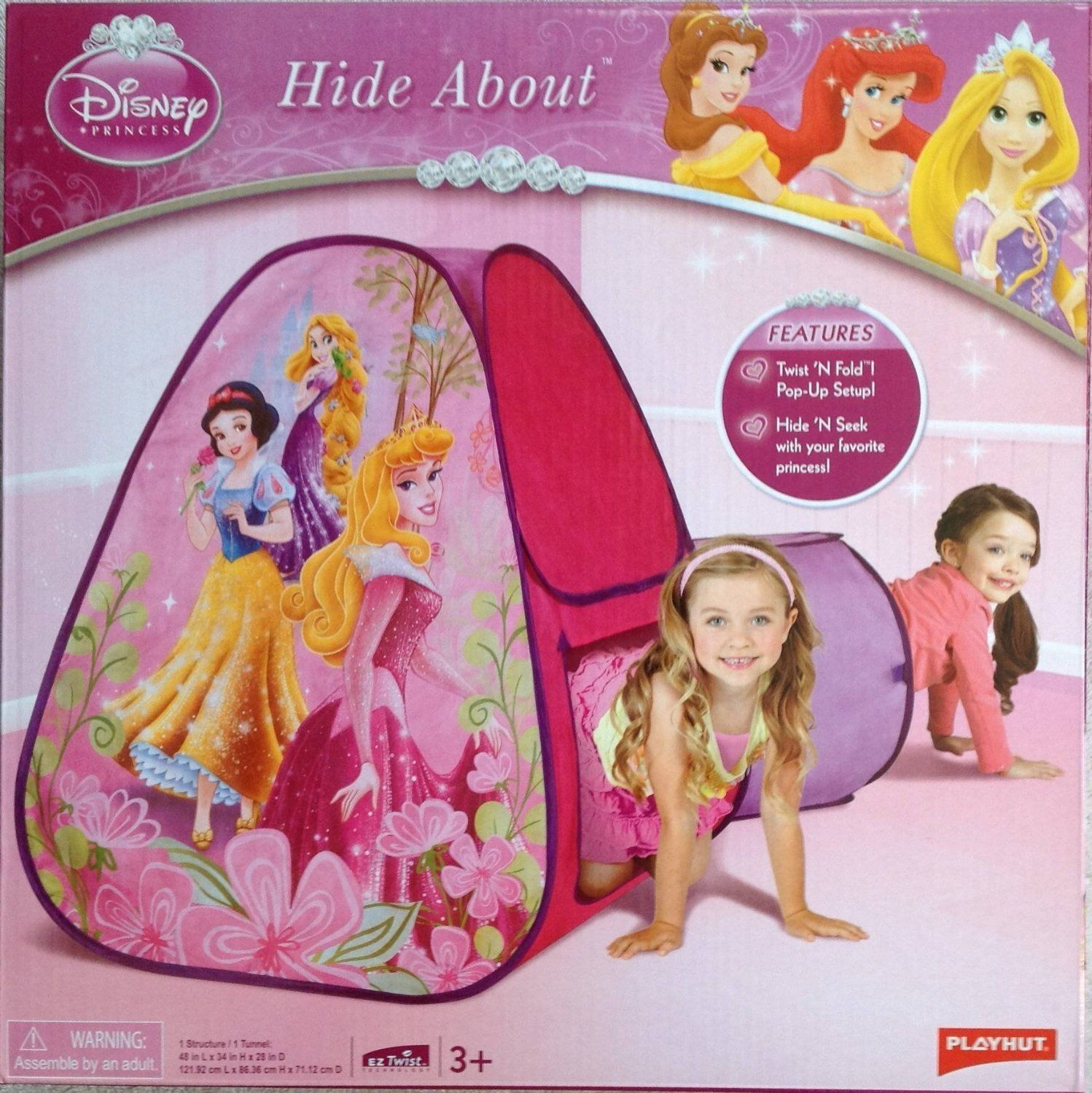 Disney Princess Hide About Play Tent and Tunnel by Playhut  sc 1 st  Pinterest & Disney Princess Hide About Play Tent and Tunnel by Playhut ...