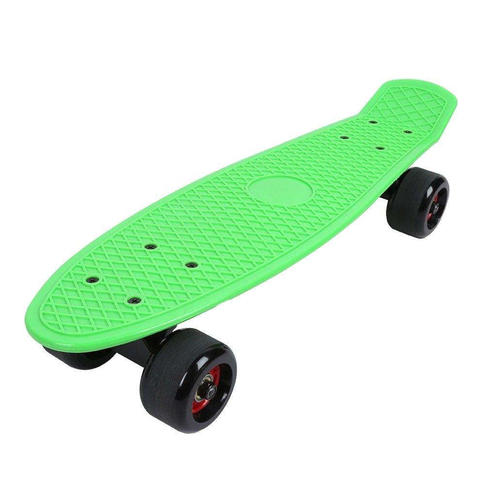 Four Wheel Skateboard Children Kids Skate Board Scooter Green
