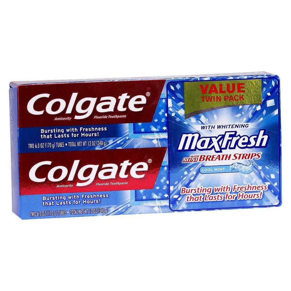 colgate max fresh Colgate max fresh shockwave gel toothpaste, electric mint 6 oz (pack of 6) brand new colgate 50 out of 5 stars - colgate max fresh shockwave gel toothpaste, electric mint 6 oz (pack of 6.