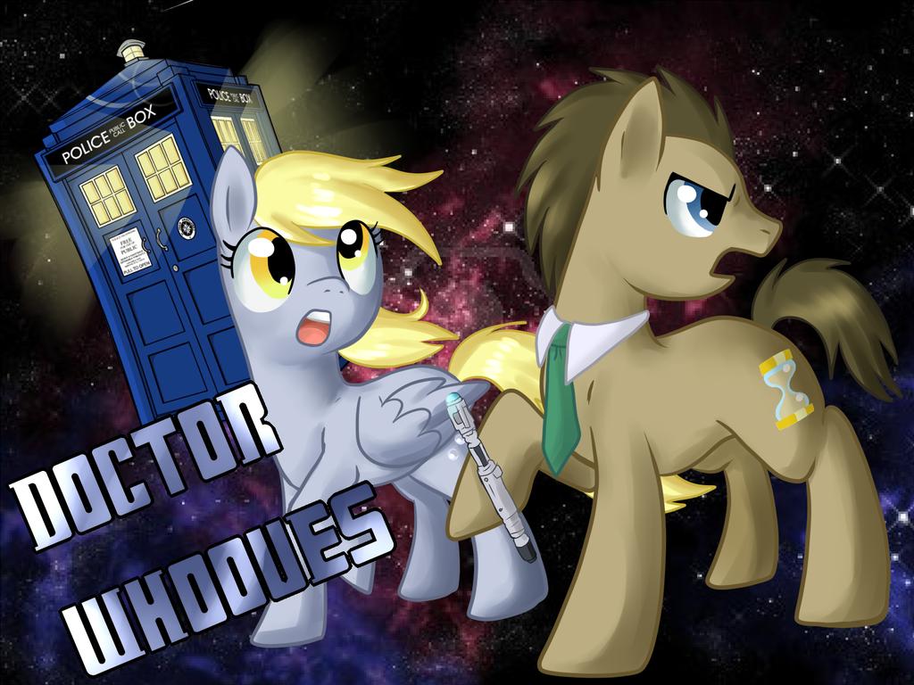 Doctor Whooves by Pon3Splash.deviantart.com on @DeviantArt