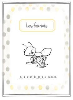 dossier sur les fourmis explications fourmili re en classe petites b tes pinterest les. Black Bedroom Furniture Sets. Home Design Ideas