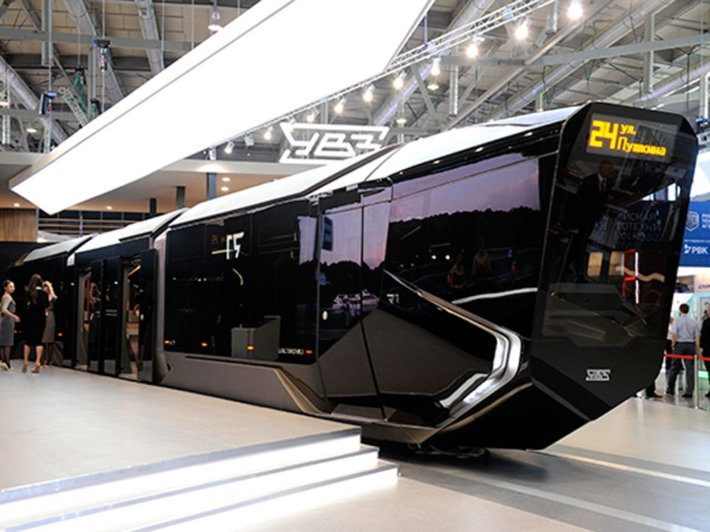 Russia One Tram Is A Batmobile From Outside Tech Hub From Inside