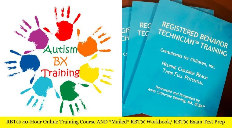 Get 40 Hr Online Training For Rbt And Workbook For Exam Preparation Workbook Online Training Courses Online Training