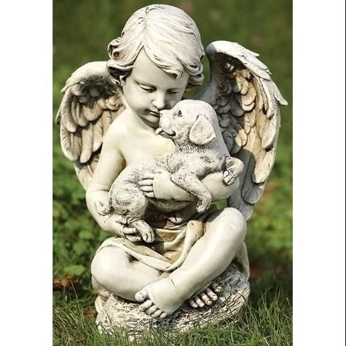 Outdoor Dog Statues | Cherub Angel Statues
