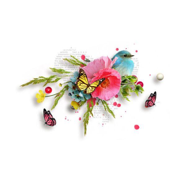 mircliparta - album «RRD_SummerRomance» on Yandex ❤ liked on Polyvore featuring flowers, plants and tubes