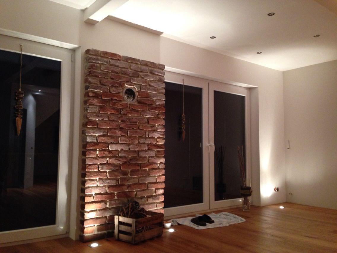 Wand aus alten ziegelsteinen selfmade umbau pinterest for Boden ziegelsteine