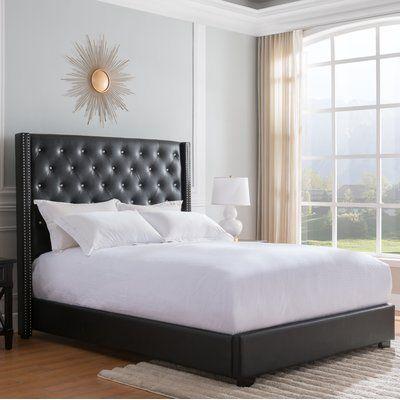 Theus Standard Bed Upholstered Platform Bed Bed Sizes Bed