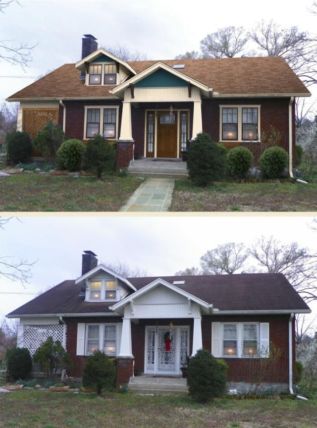 Image result for Changing Up the Exterior before and after