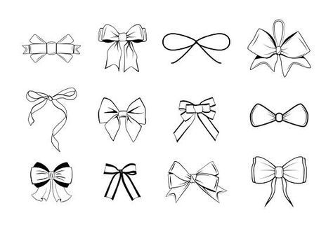 Christmas Bow Svg.Best 11 Big Set Of Bow Svg Bow Tie Bow With Ribbons Bows