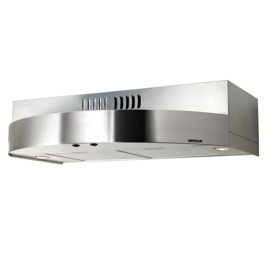 Broan Recirculating Bathroom Fan Stainless Range Hood Range Hood Broan