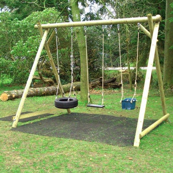 Wooden Swing Frames Oyun Bahceleri Hamaklar Salincak