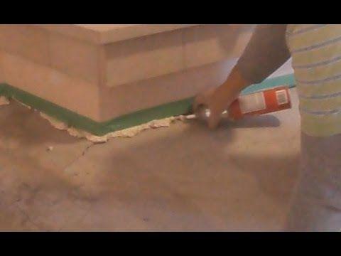 Concrete Floor Crack Repair Before Putting Self Leveling Floor