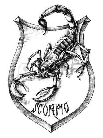 Escorpio Escorpion Heraldica Escorpio Signo Zodiacal Tatuajes Escorpio Tatuaje De Escorpion Escorpio