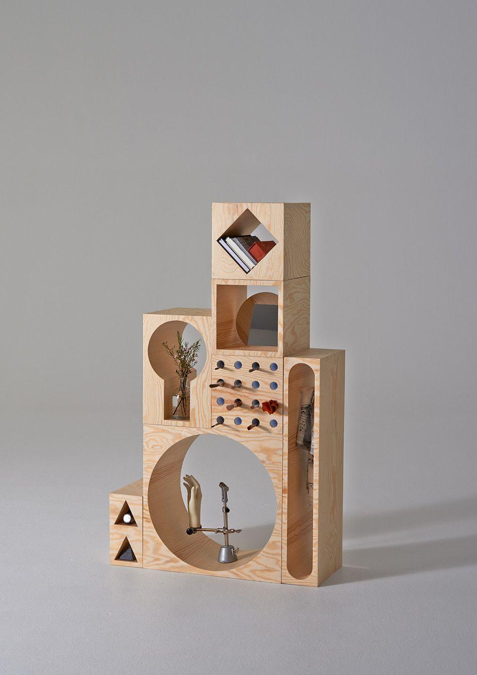 Organizador inspirado en los bloques armables de madera. ¡Encaja las ...