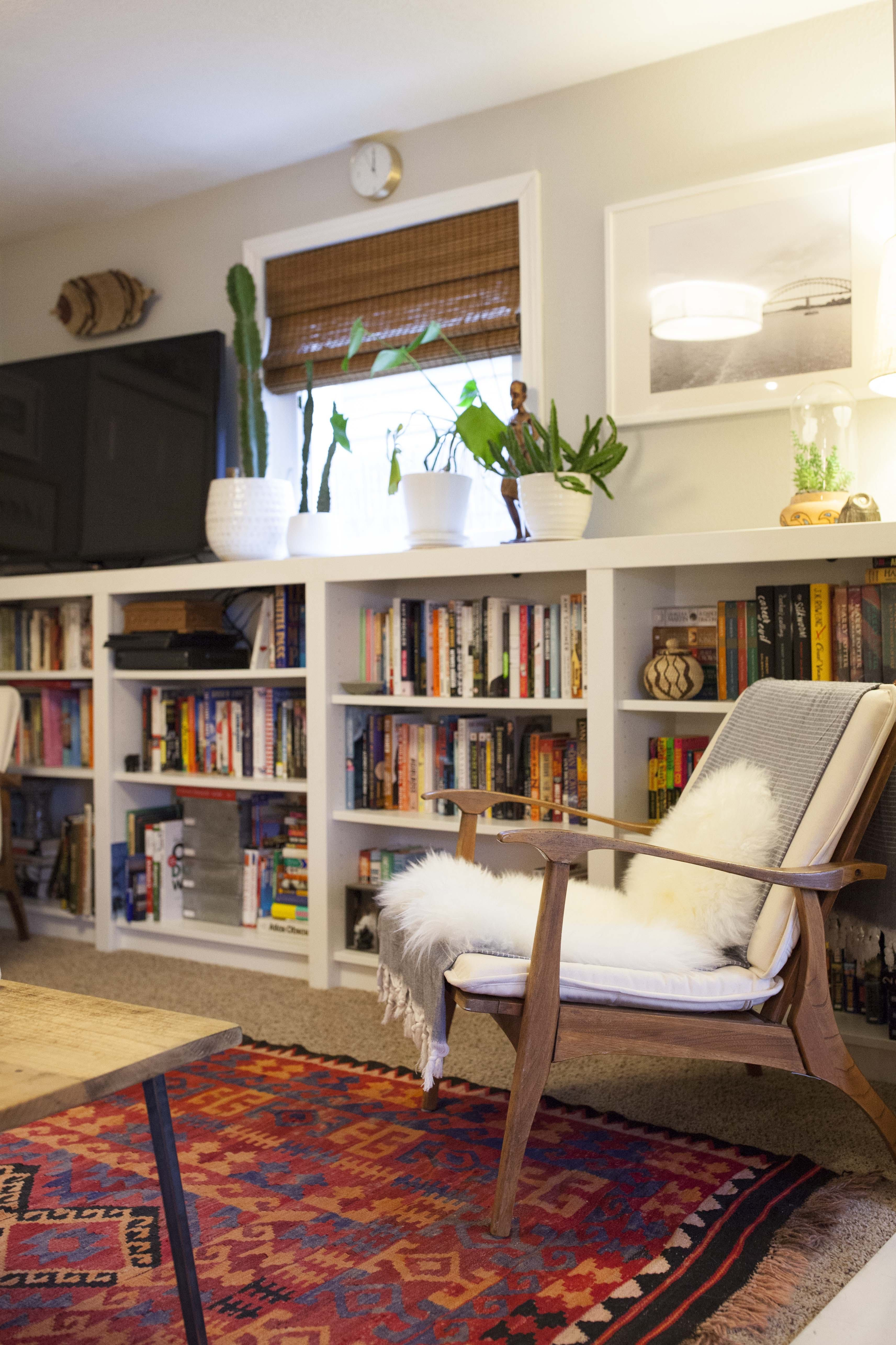"Fearless Diyers In A ""flipped"" Portland House  Cheap Carpet Amusing Craigslist Living Room Set Decorating Design"
