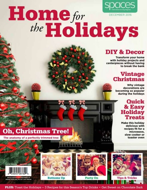 Spaces - Home for the Holidays December 2016